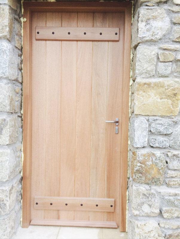 Wooden Door Mykonos