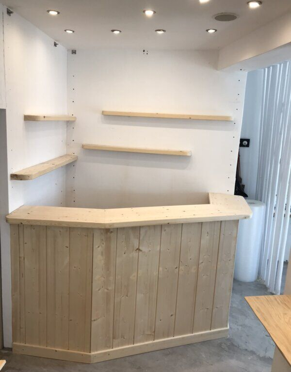 Wooden Mini Bar